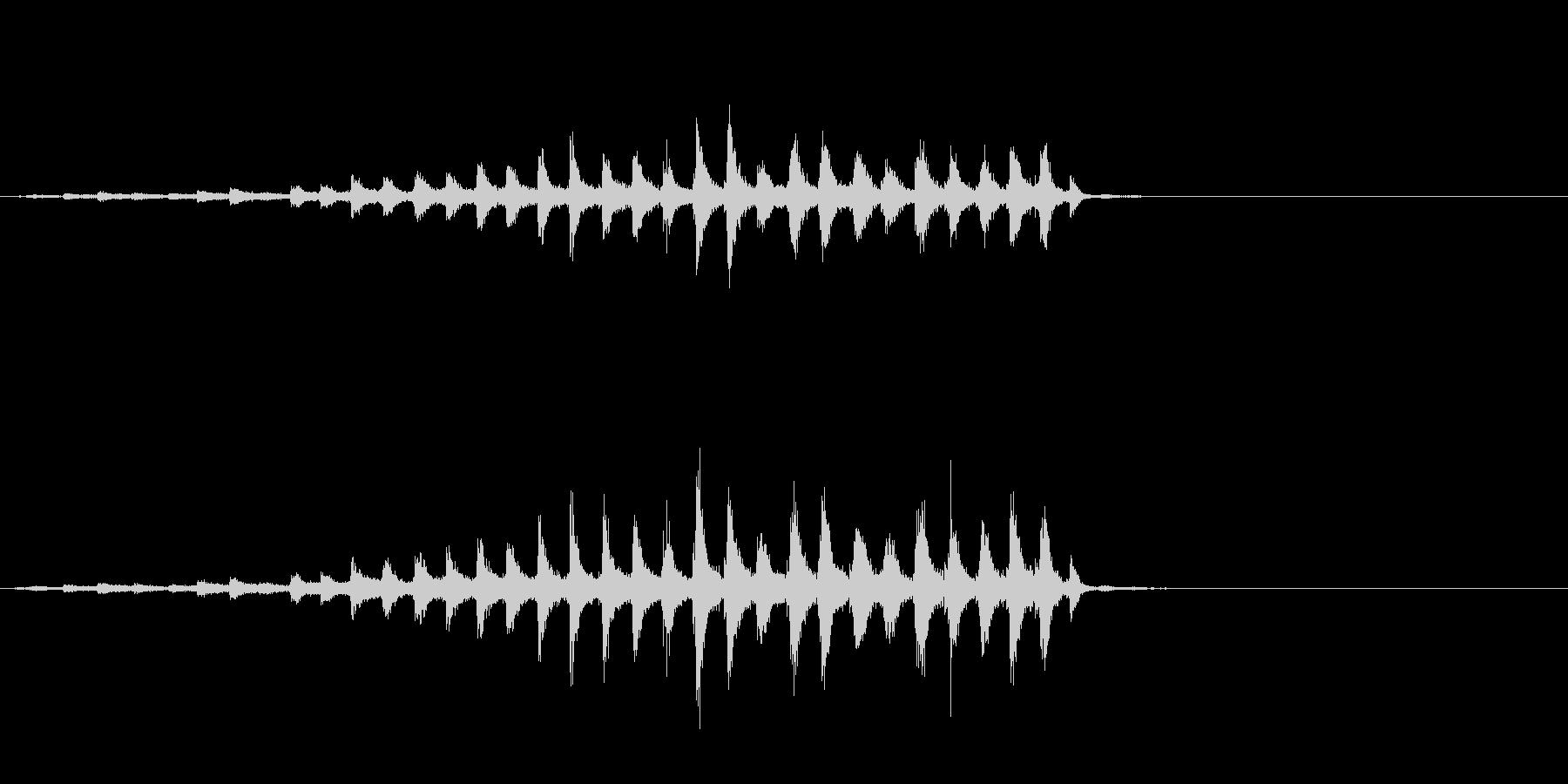 『チャッパ』和製シンバルのフレーズ1FXの未再生の波形