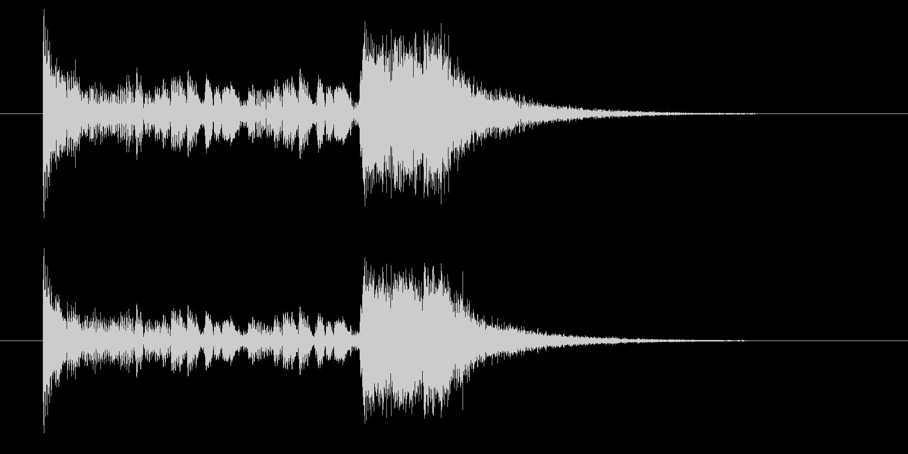 ドロドロジャンジャン(発表、賞)の未再生の波形