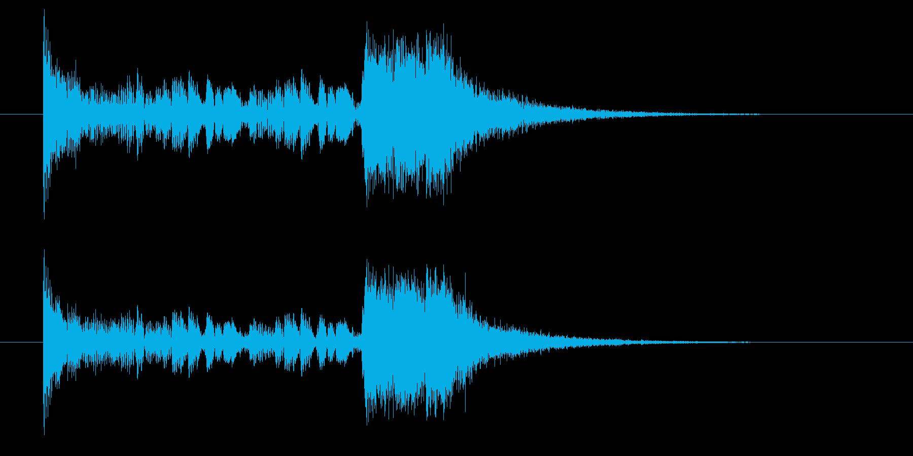 ドロドロジャンジャン(発表、賞)の再生済みの波形