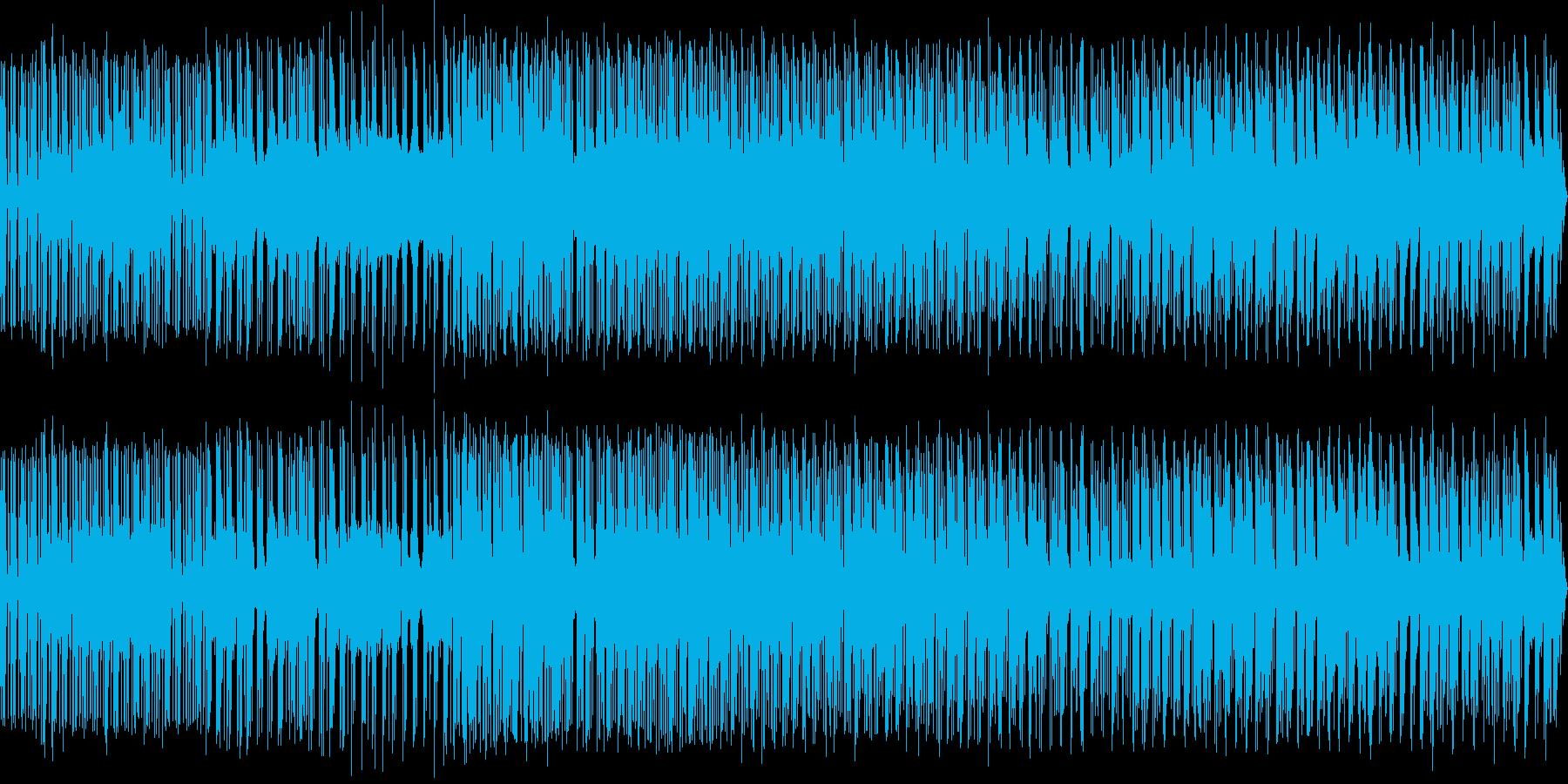 upの再生済みの波形