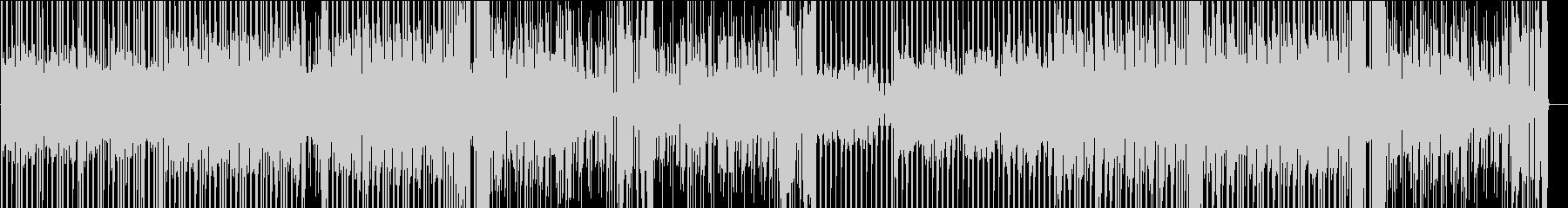 戦闘をイメージしたBGMの未再生の波形