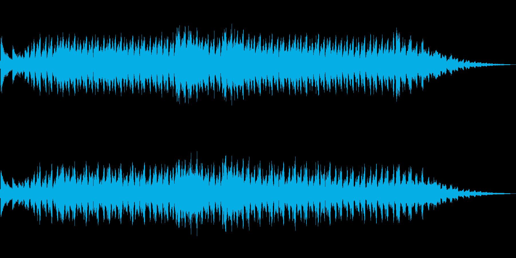 ハロウィン/ 怪しい洋館のBGMの再生済みの波形