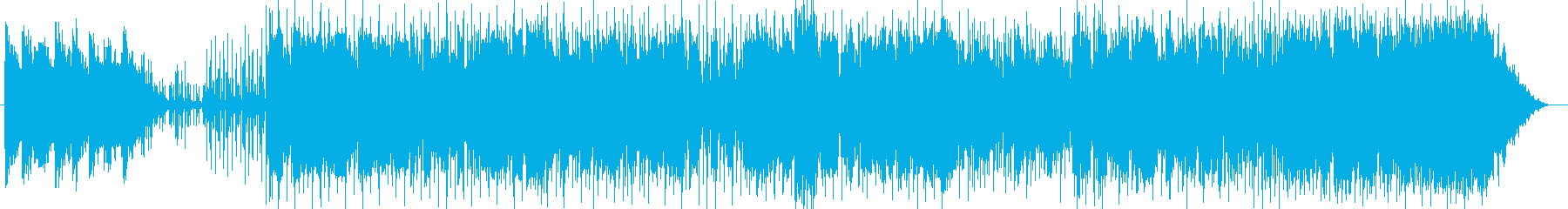 お洒落なフュージョンポップの再生済みの波形