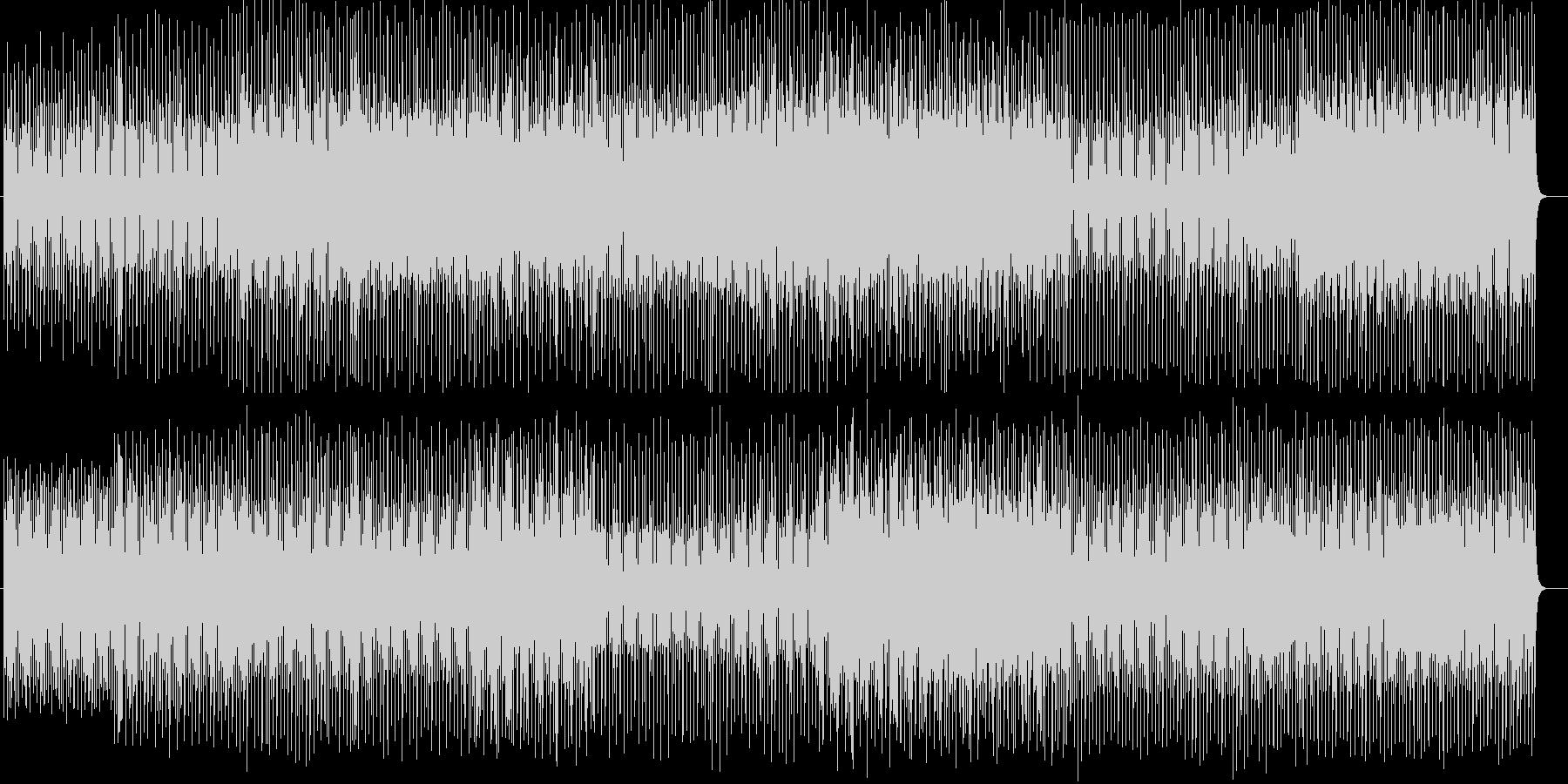 チャイナ風シンセサイザーなどの曲の未再生の波形