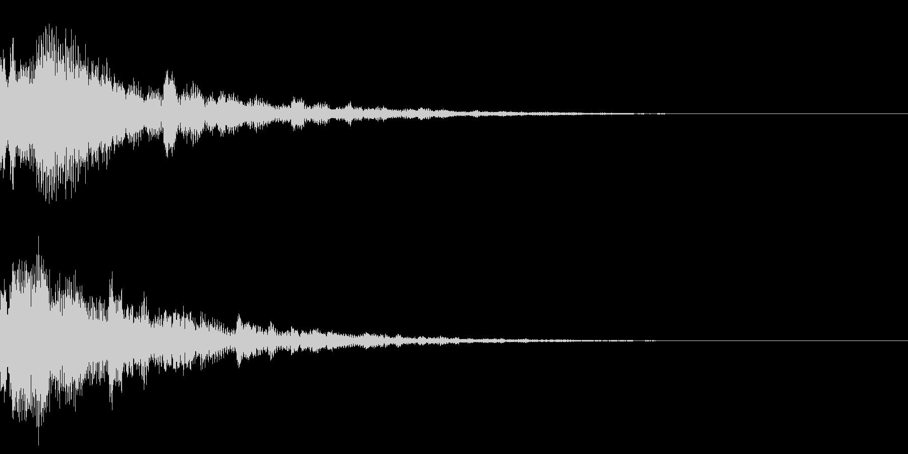サウンドロゴ35(ベル系)の未再生の波形