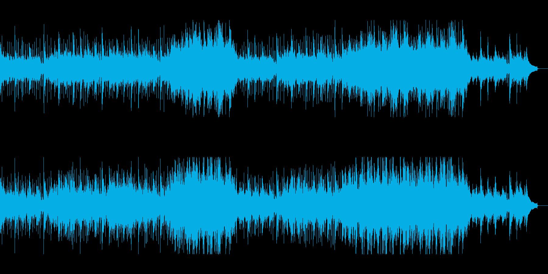 映像向きのしっとり爽やかなアコギ+ピアノの再生済みの波形