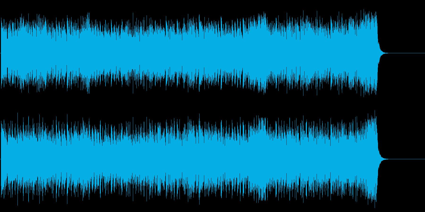 明るく元気で前向きなポップ/テーマの再生済みの波形