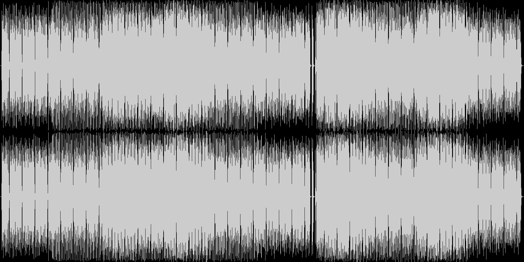 サファイアをイメージした神秘的なハウスの未再生の波形