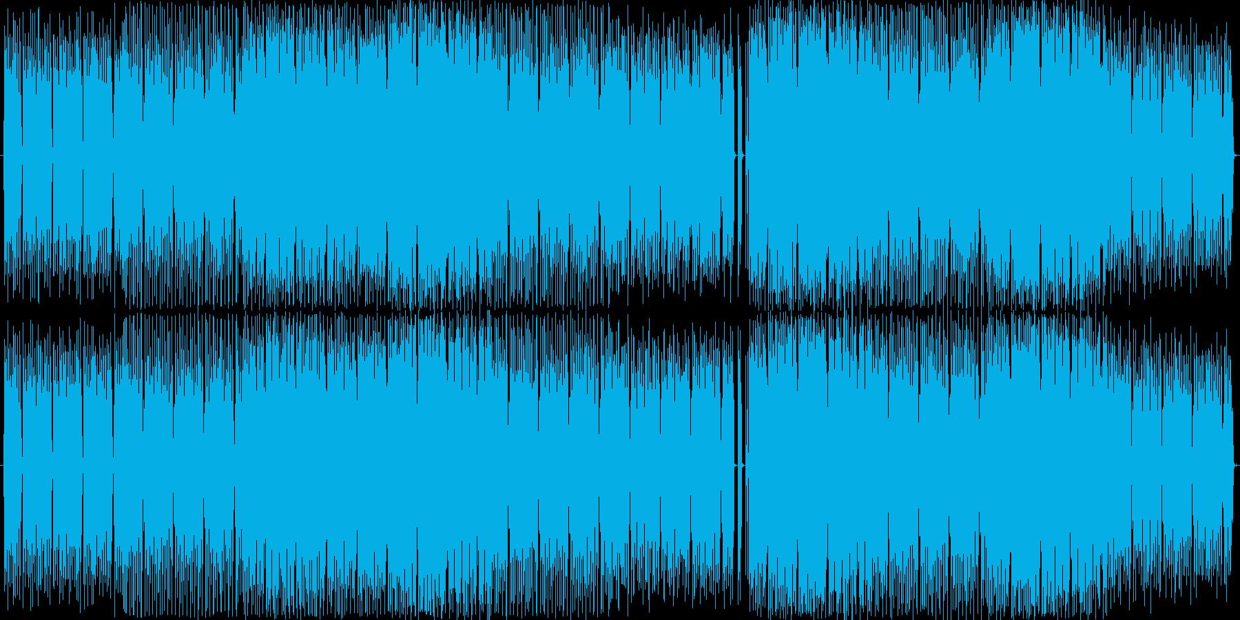 サファイアをイメージした神秘的なハウスの再生済みの波形