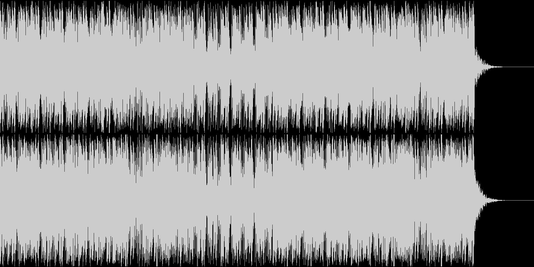日常の朝にピッタリのBGMの未再生の波形