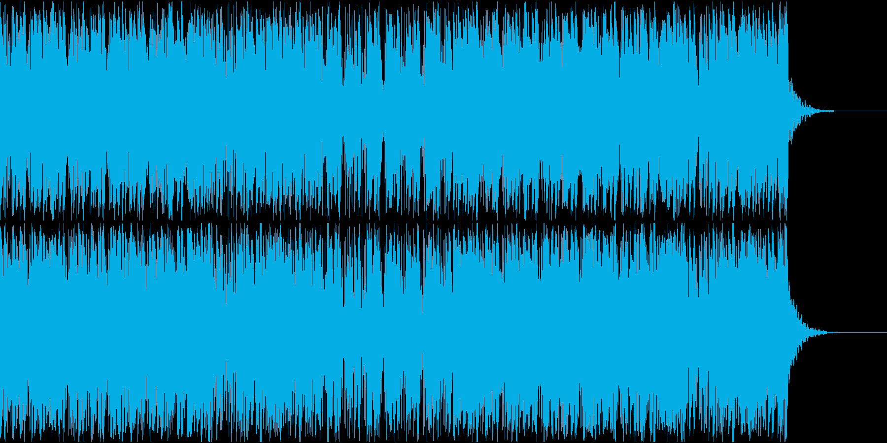 日常の朝にピッタリのBGMの再生済みの波形