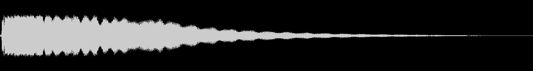 フロントベルの未再生の波形