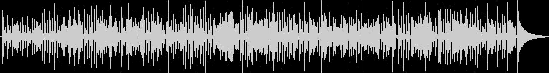 アコースティックギターのミディアム曲の未再生の波形