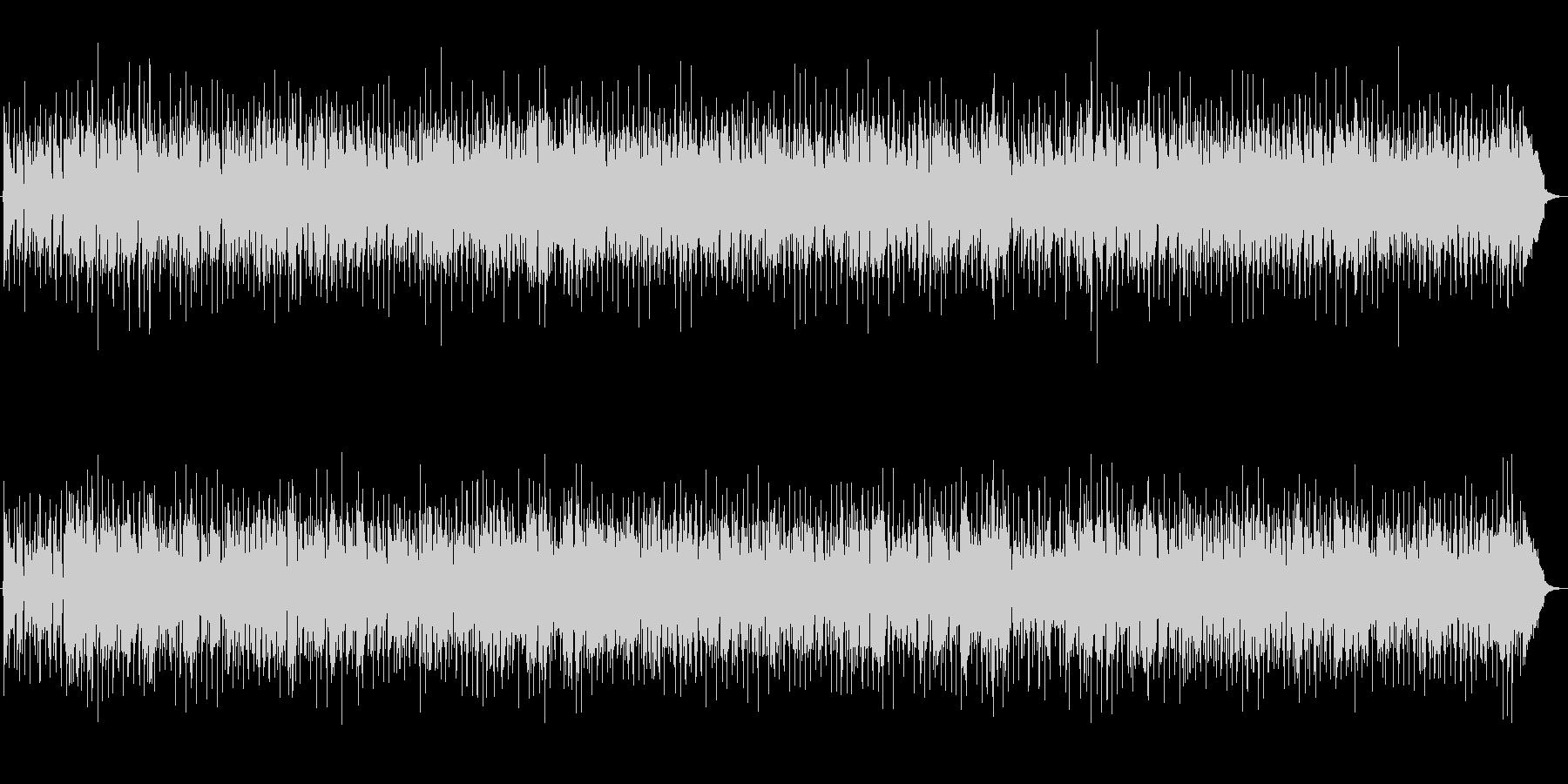 ユーロビート風な映像用BGMの未再生の波形