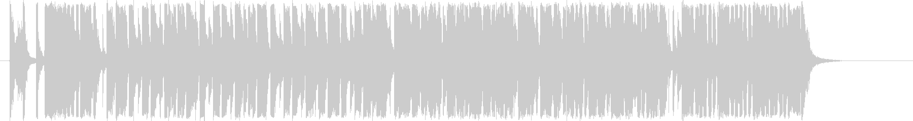 シンキングタイム用BGMの未再生の波形