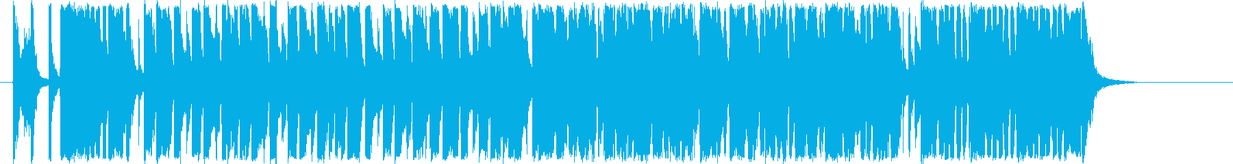 シンキングタイム用BGMの再生済みの波形