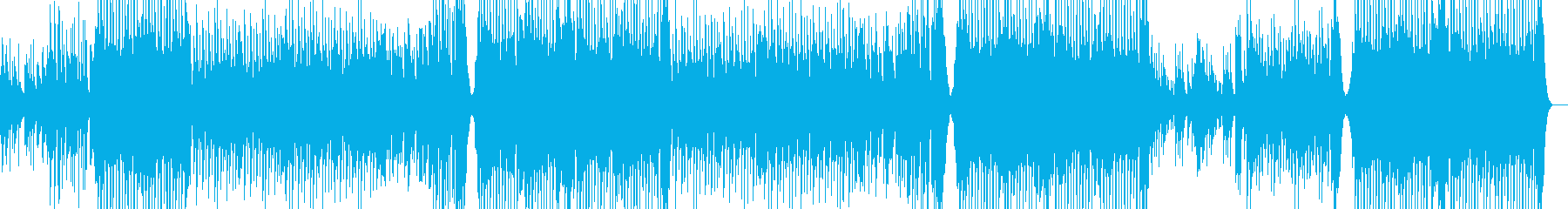 ピアノが美しい切ないダンス系な曲の再生済みの波形