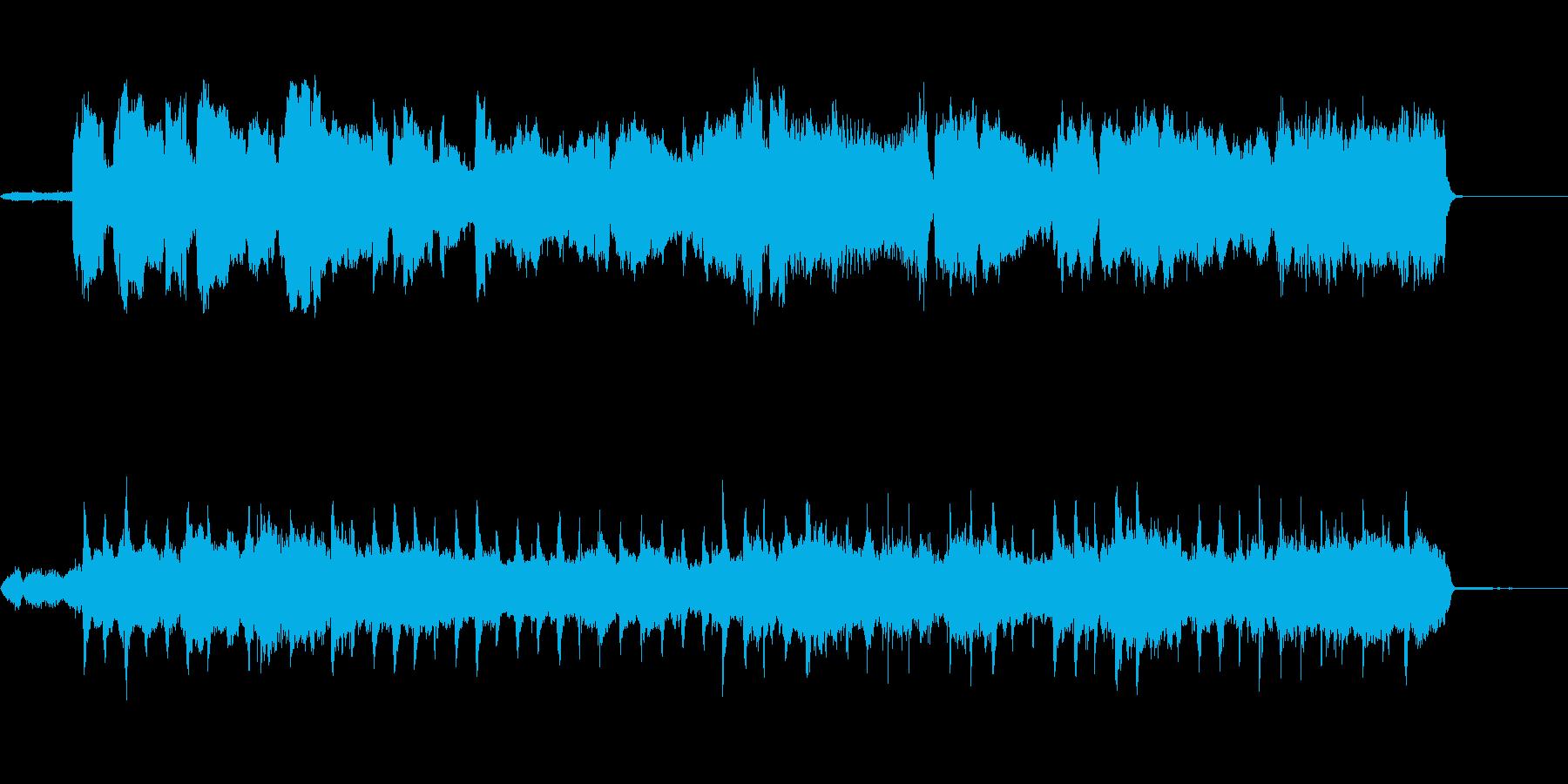 クラシカルなボサノヴァ風オーケストラの再生済みの波形