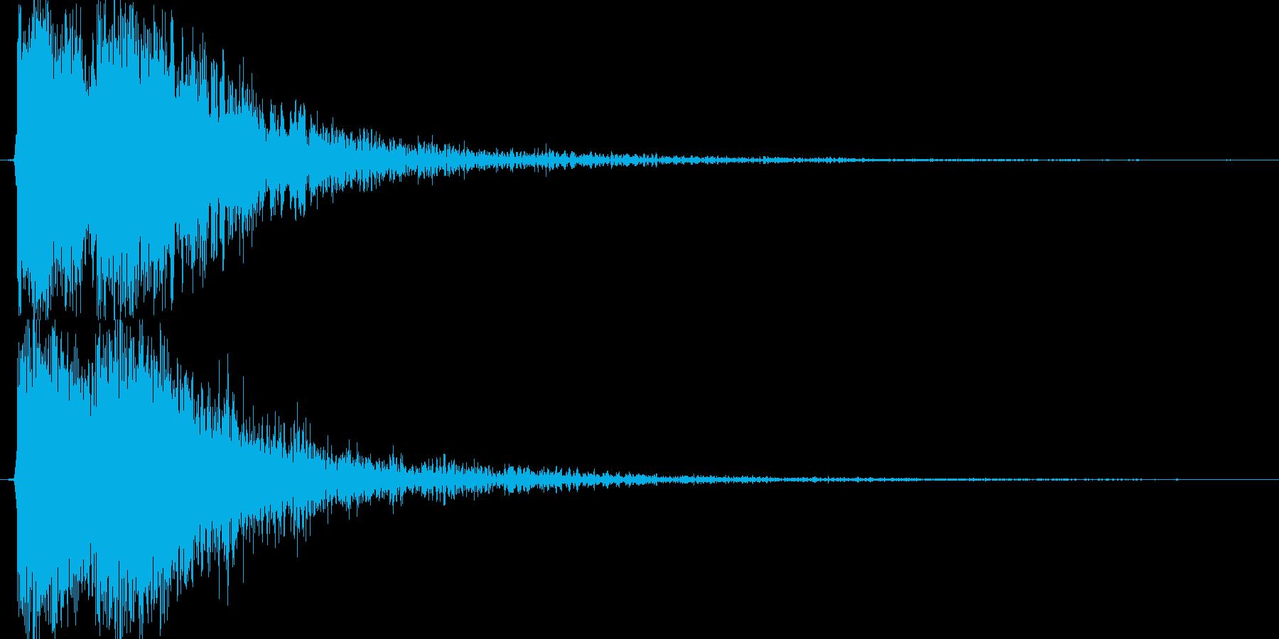 ジャジャン!!(テロップ、重大発表)の再生済みの波形