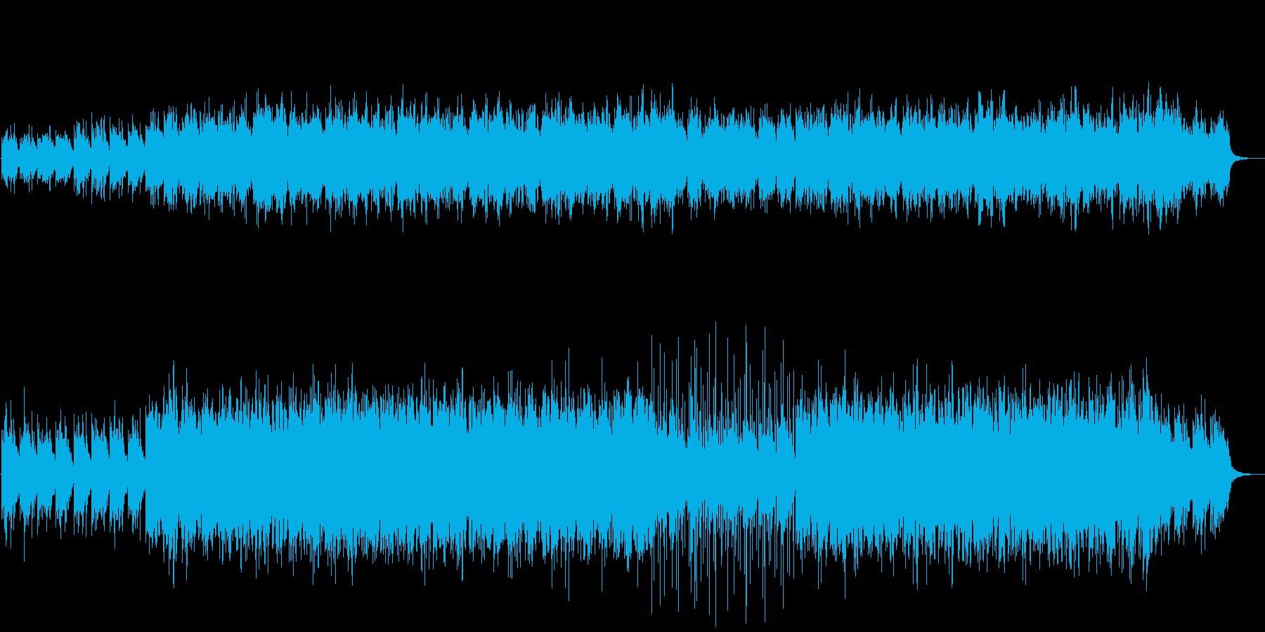 ミニマルなRPG等に使用できるBGMの再生済みの波形