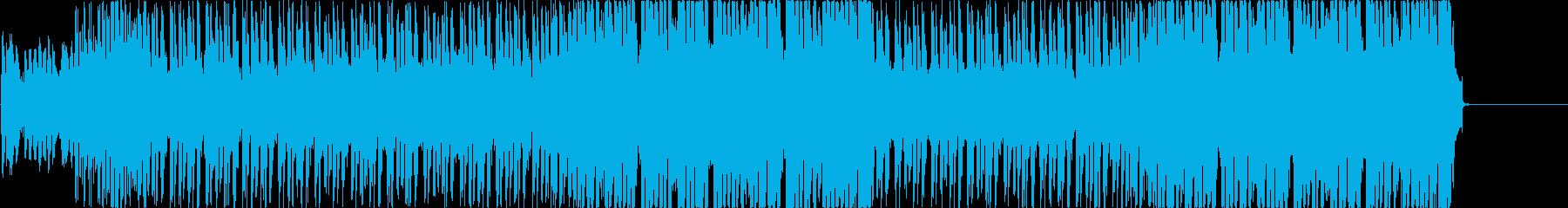 サーフなギターにコミカルなBGMの再生済みの波形
