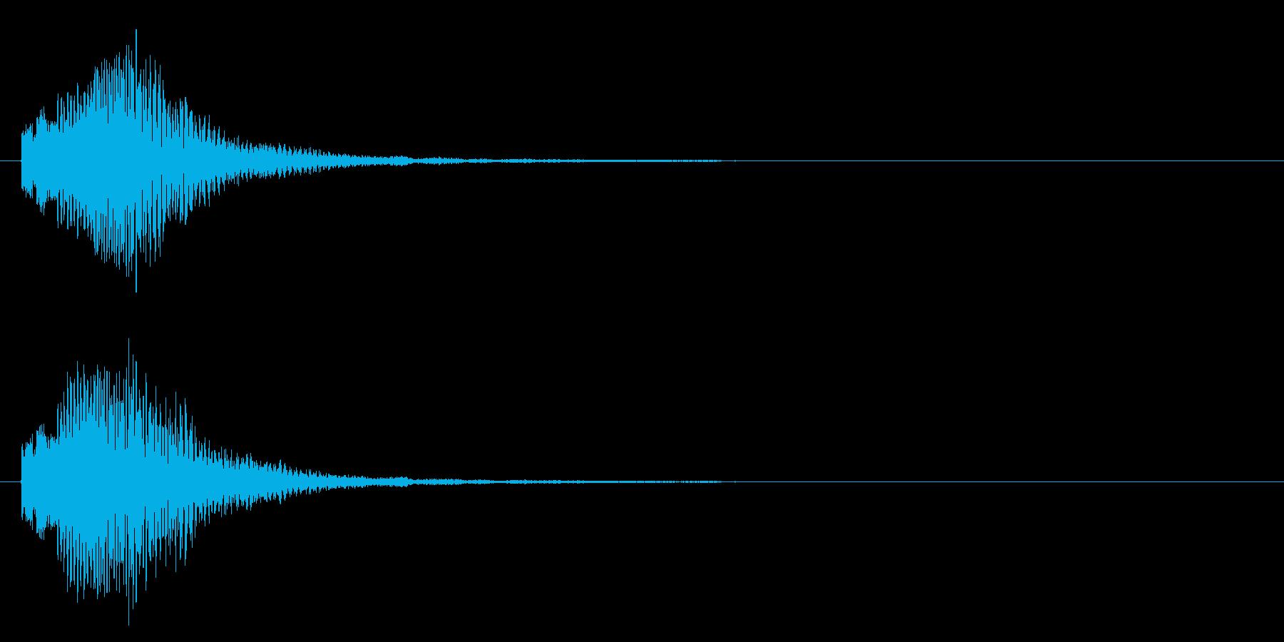 決定音/マレット/上昇系の再生済みの波形