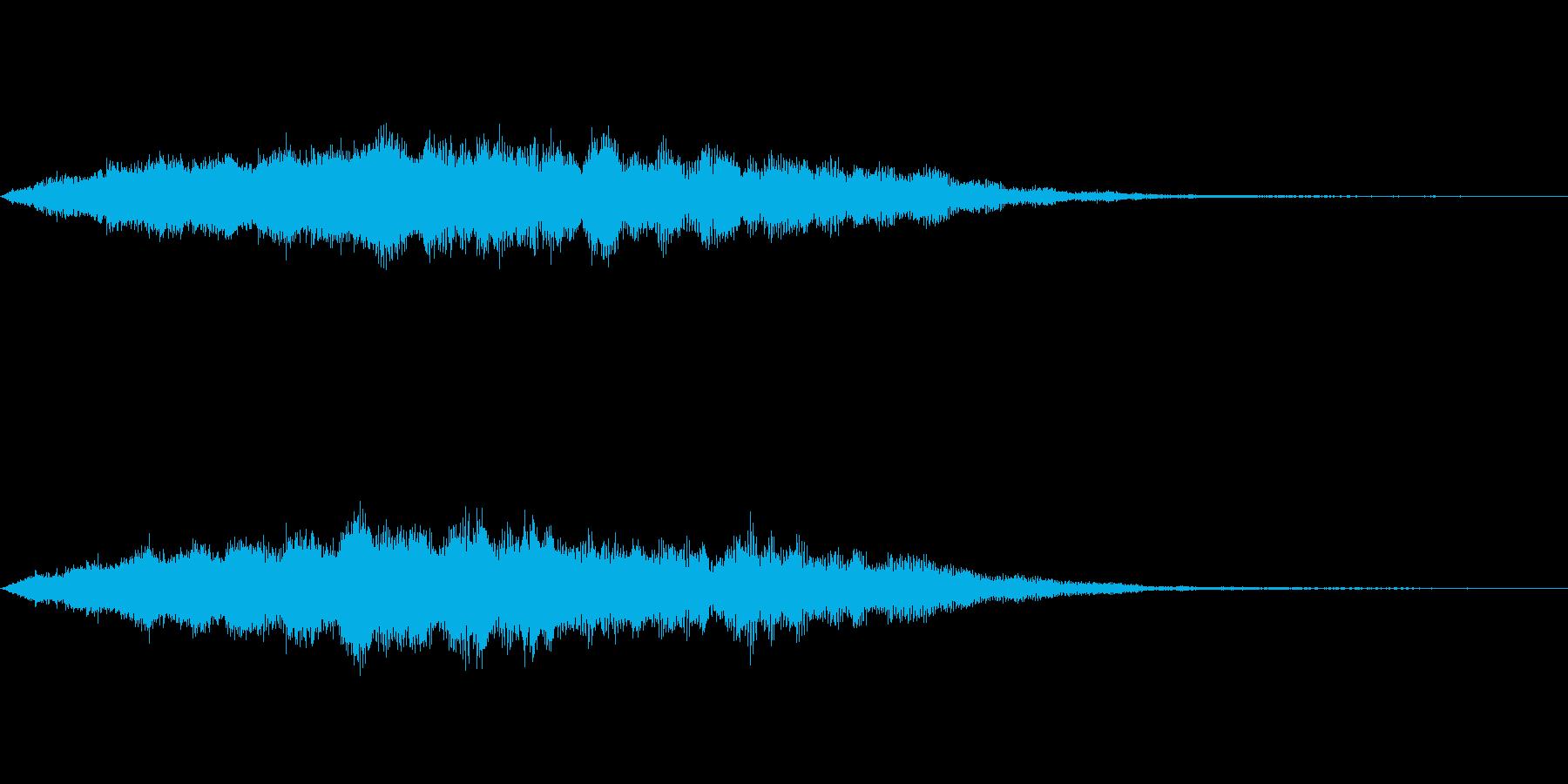 スペイシーな空間音 Gメジャーの再生済みの波形