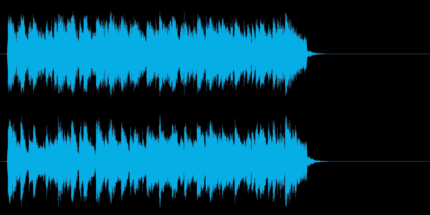 懐しいビッグバンドジャズ(イントロ)の再生済みの波形