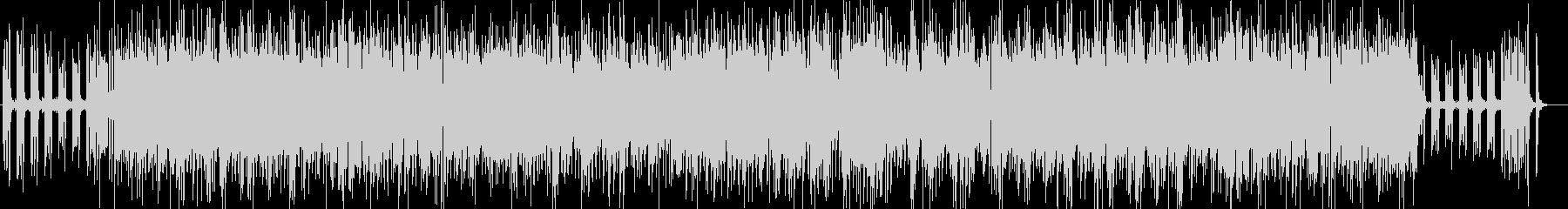 爽やかなボサノバジャズのbgmの未再生の波形