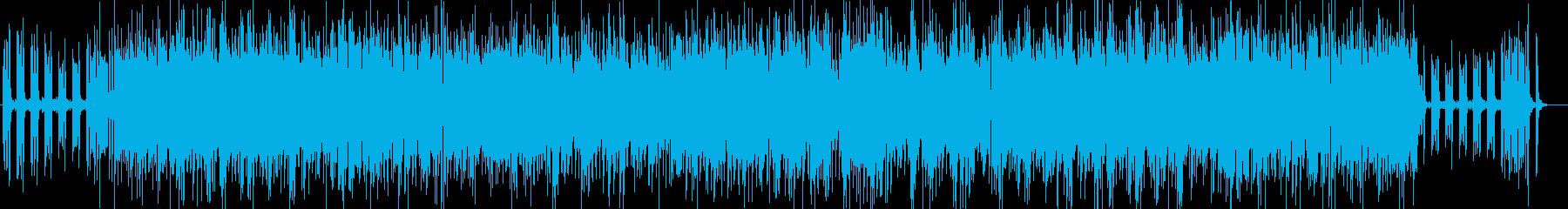 爽やかなボサノバジャズのbgmの再生済みの波形