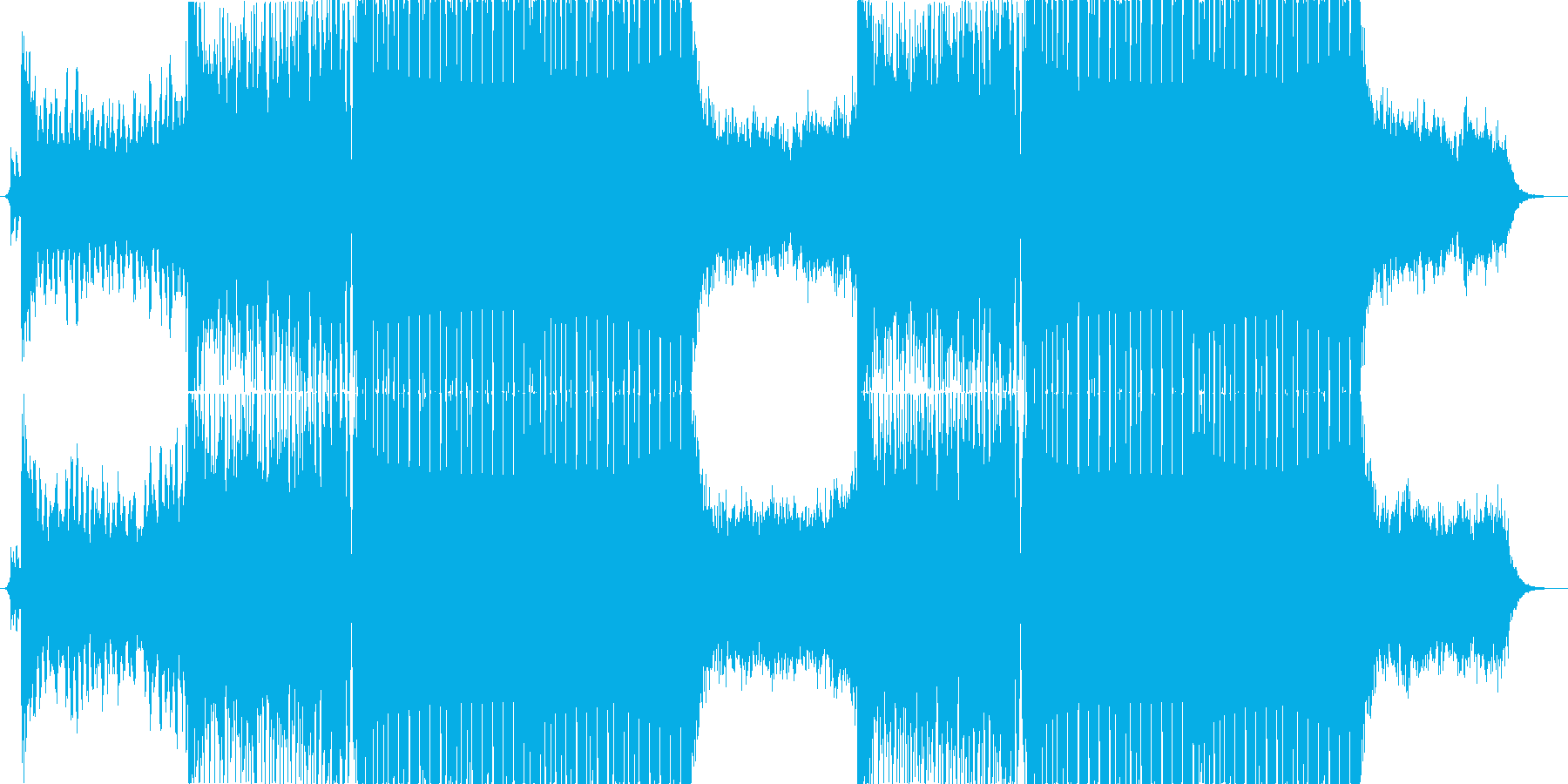 drop candy /エレクトロハウスの再生済みの波形
