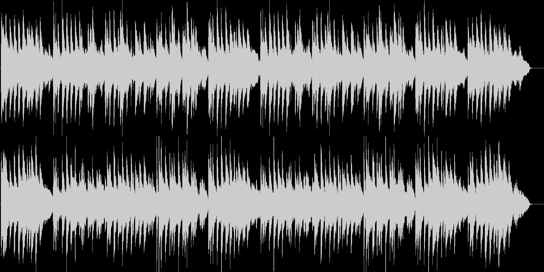 こいのぼり・童謡・春・和風・ピアノの未再生の波形