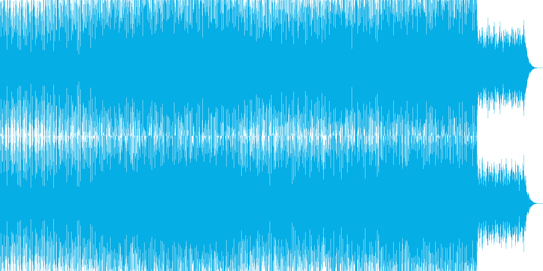 ニュース映像ナレーションバック向け-15の再生済みの波形