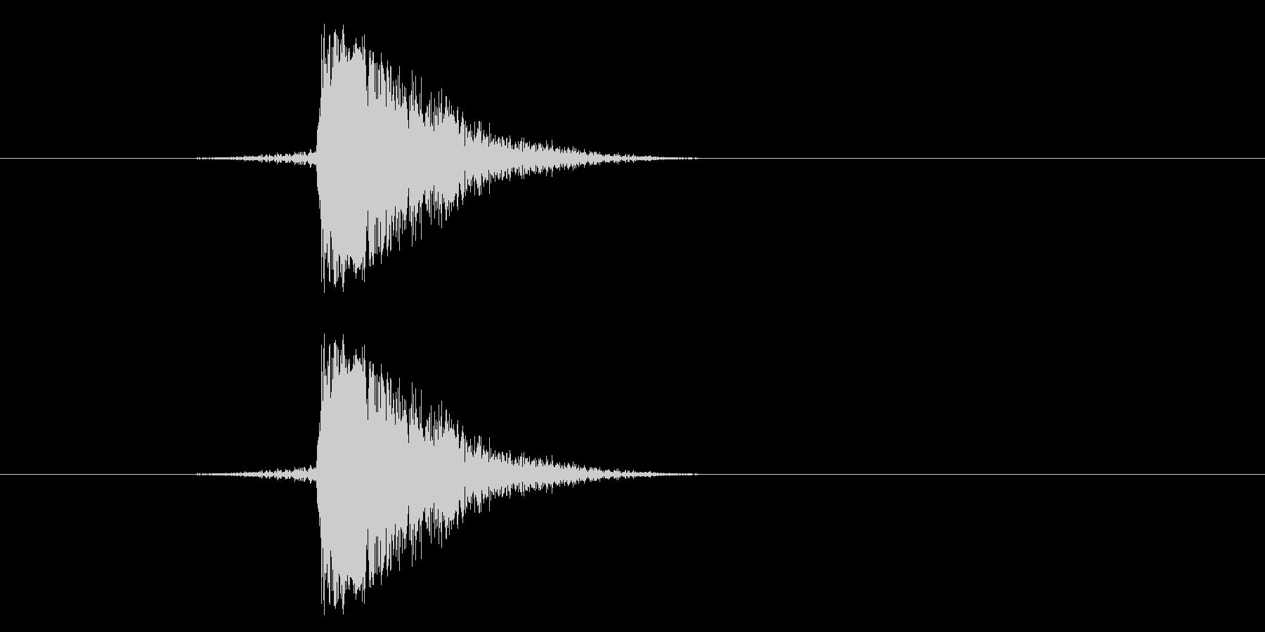 ジャン!リバースオケヒその2の未再生の波形
