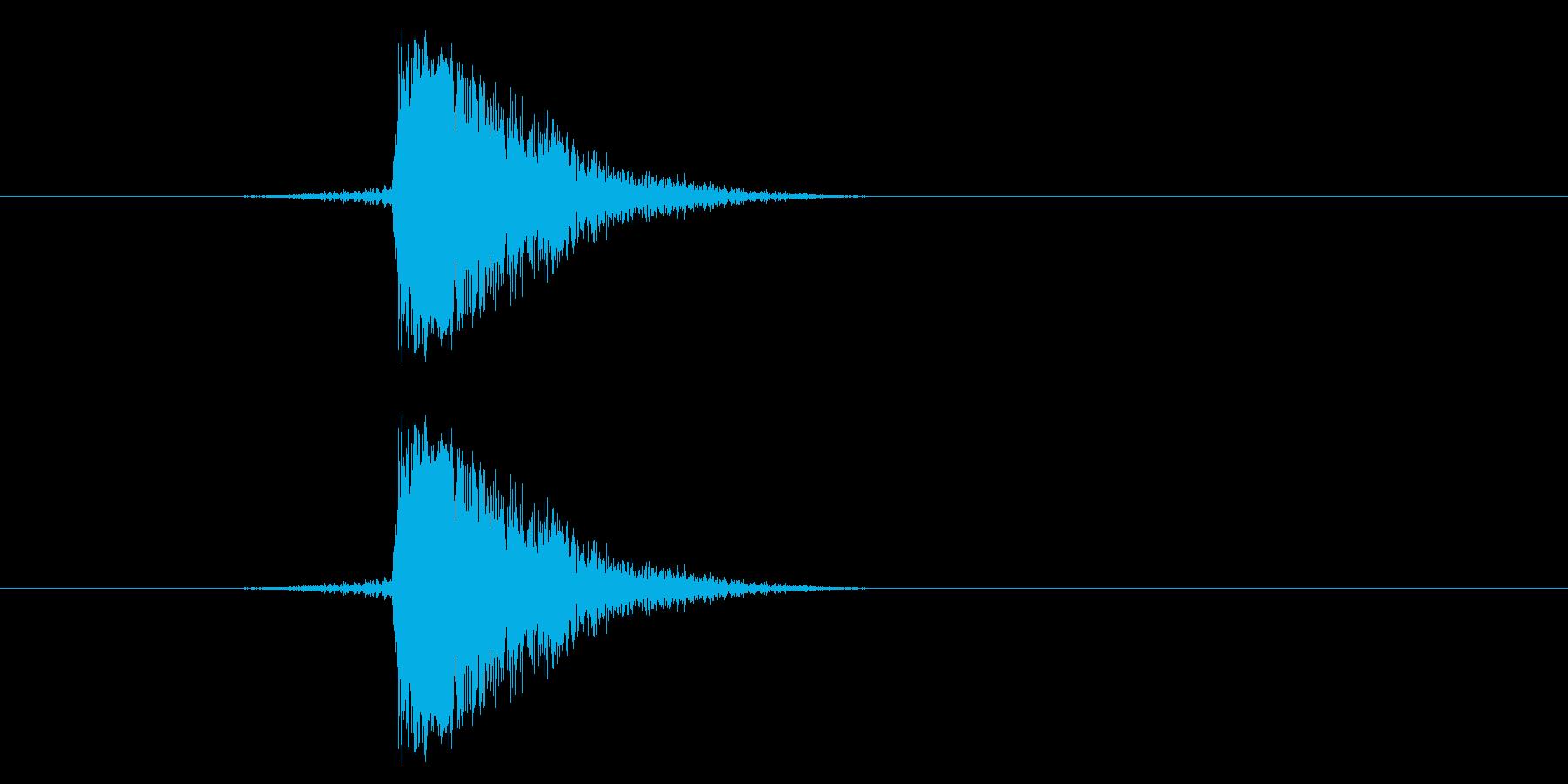 ジャン!リバースオケヒその2の再生済みの波形