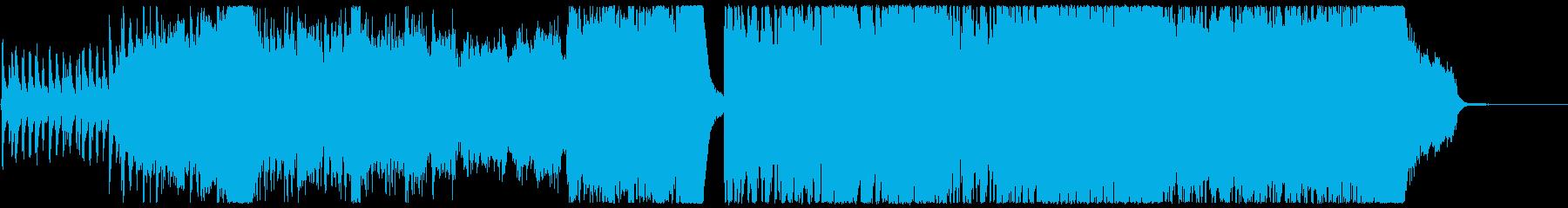 明るく壮大なポップオーケストラの再生済みの波形