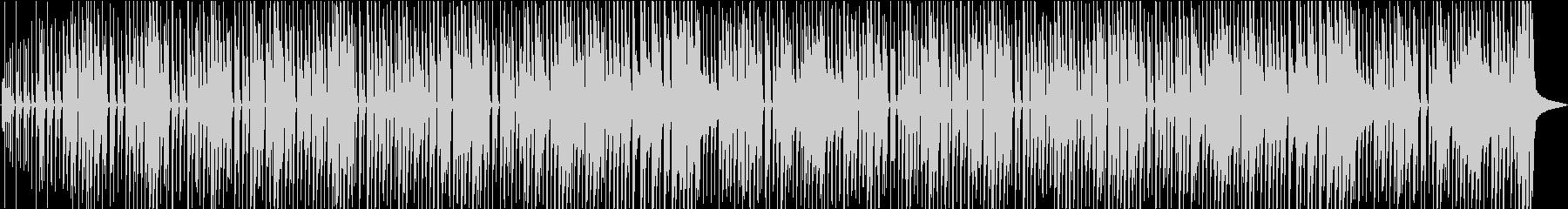 明るく軽いオープニング曲の未再生の波形