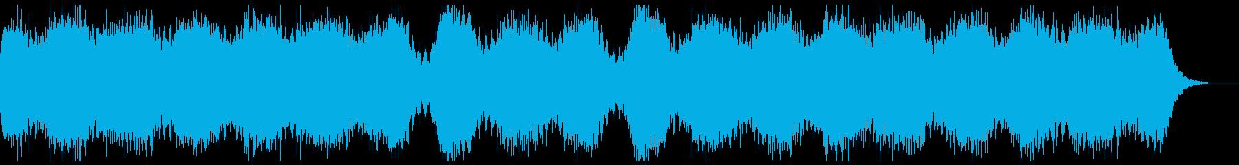 ふたつで十分なBGMの再生済みの波形