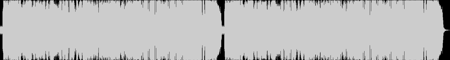 激しいシンフォニックメタルの未再生の波形