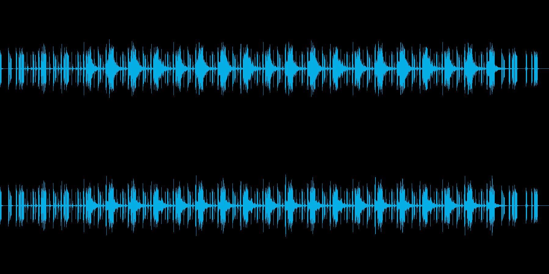 ザコキャラ登場の再生済みの波形