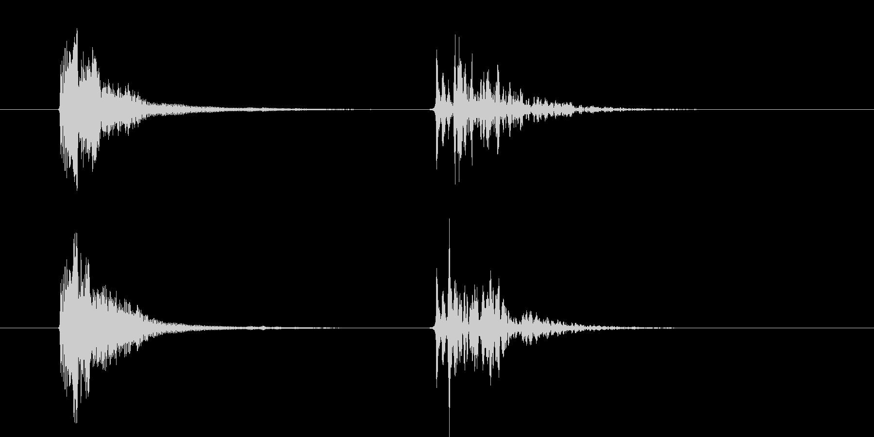 コルク栓やスクリューキャップを抜く音05の未再生の波形
