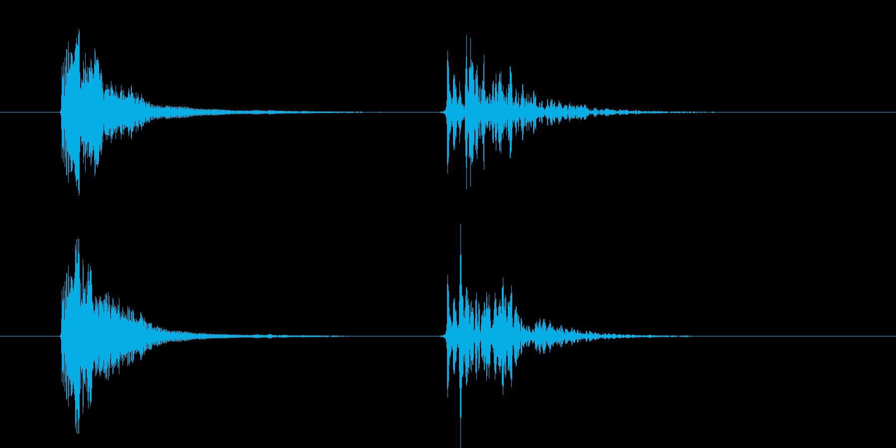 コルク栓やスクリューキャップを抜く音05の再生済みの波形