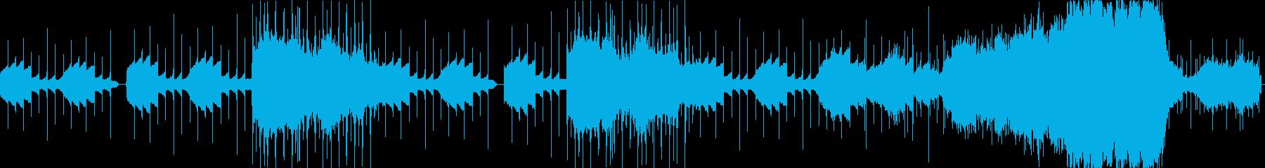 打ちこみ主体のサイケデリックの再生済みの波形