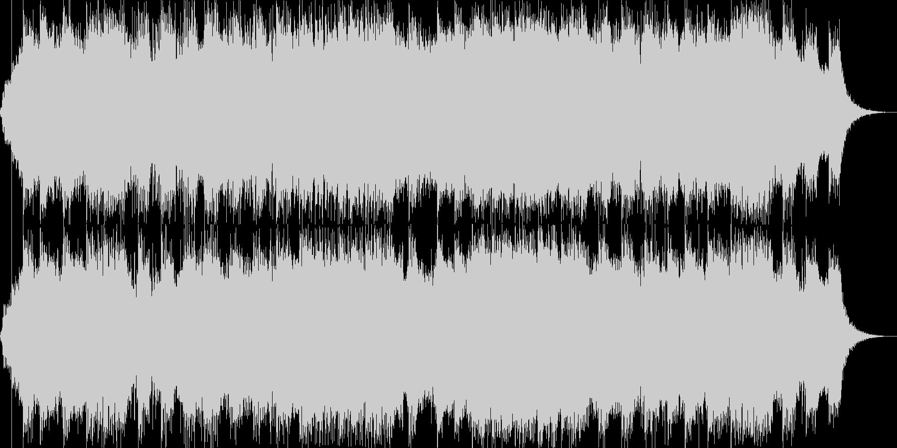 ダークファンタジーオーケストラ戦闘曲48の未再生の波形