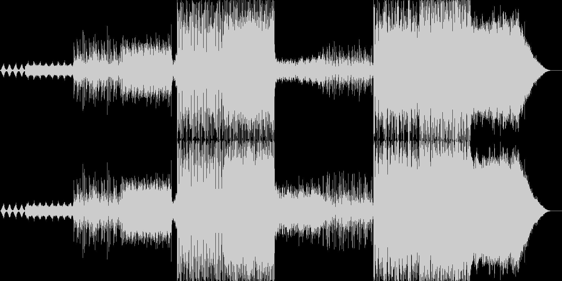 幻想的な雰囲気を出した曲で最初から最後…の未再生の波形