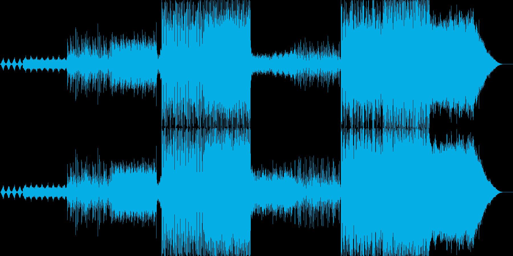 幻想的な雰囲気を出した曲で最初から最後…の再生済みの波形