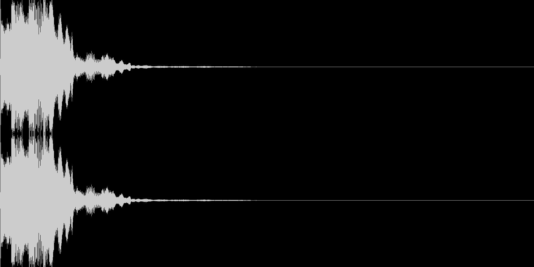 電子音(チリン)の未再生の波形