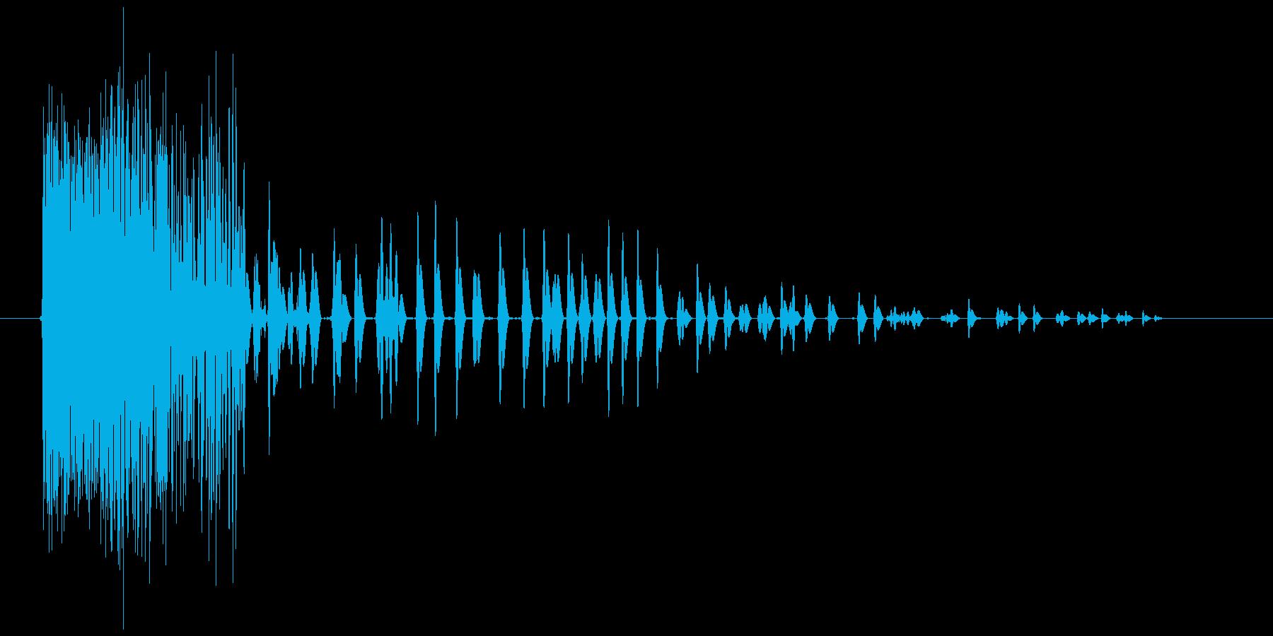 キュボーン(炎魔法、火の玉、攻撃)の再生済みの波形