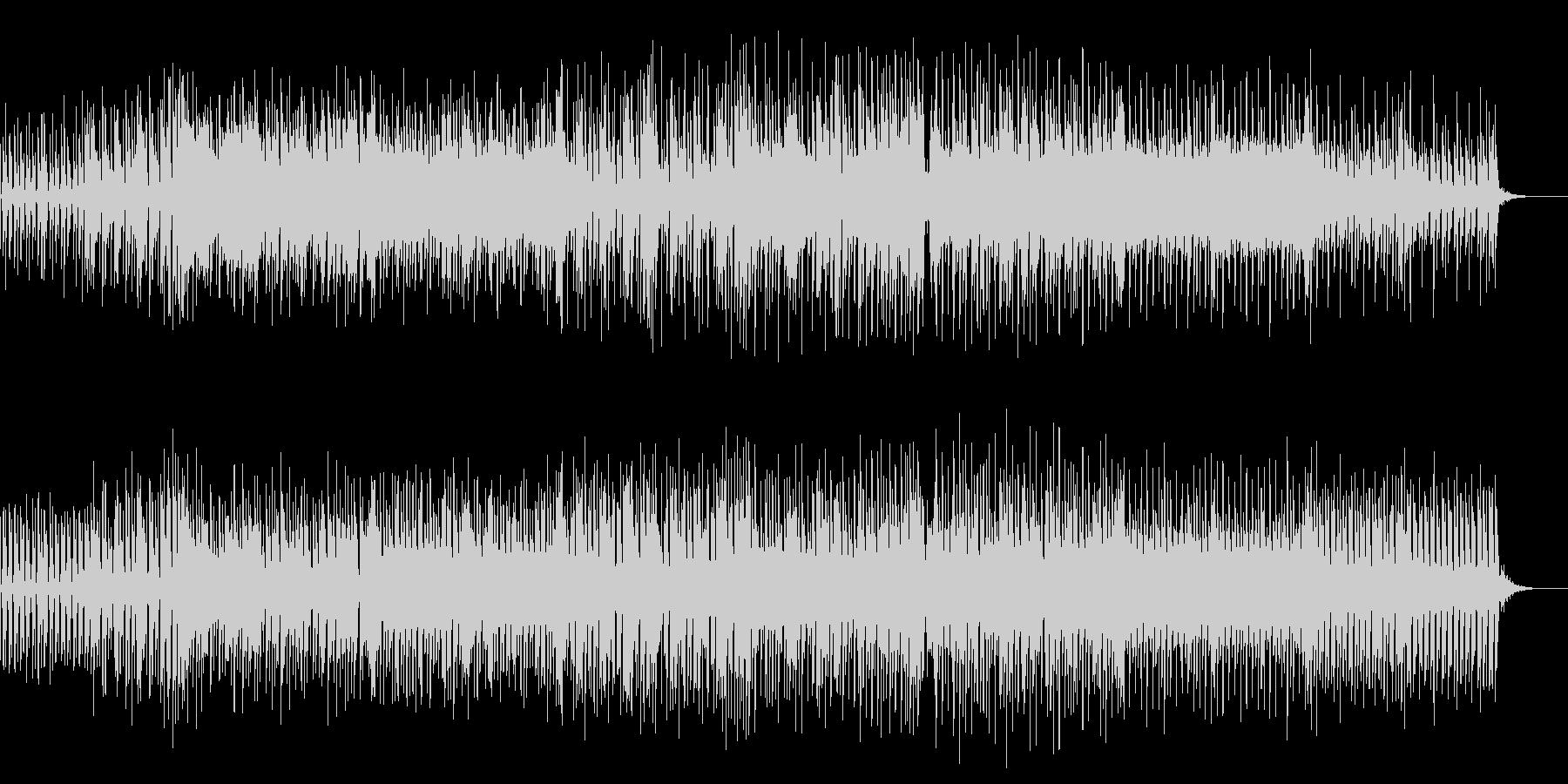 爽やかなリード音と軽快なリズムが印象的の未再生の波形