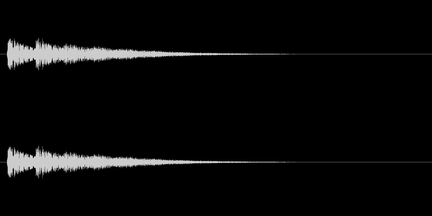 【ネガティブ07-5】の未再生の波形